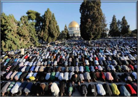Islamist control Temple Mount