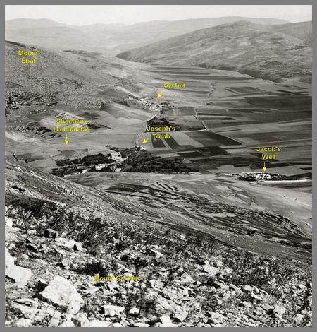 Biblical Heartland of Abraham, Isaac and Jacob