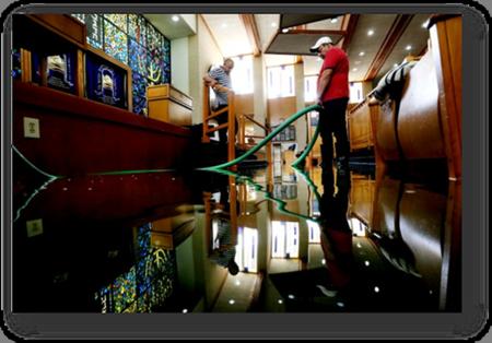 Houston United Orthodox Synagogue Flood Damages