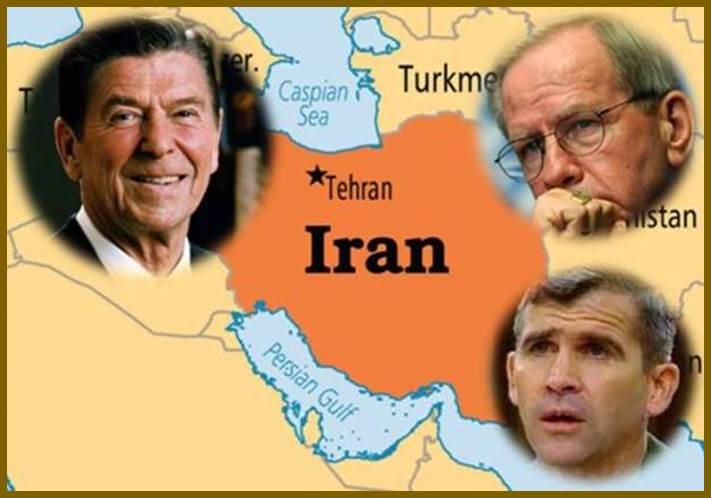 """""""Irangate"""" - Weapons  with Reagan Admin to Iran through Oliver North"""