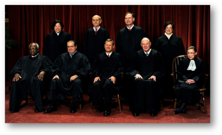 U.S. Supreme Court 5-4 majority decision on June 26, 2015