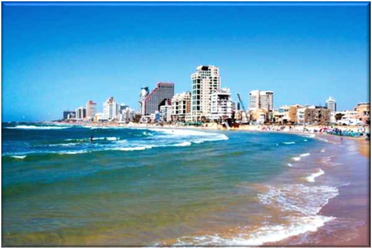 Gorden Beach at Tel Aviv in Israel, one of the Top Beaches in the World