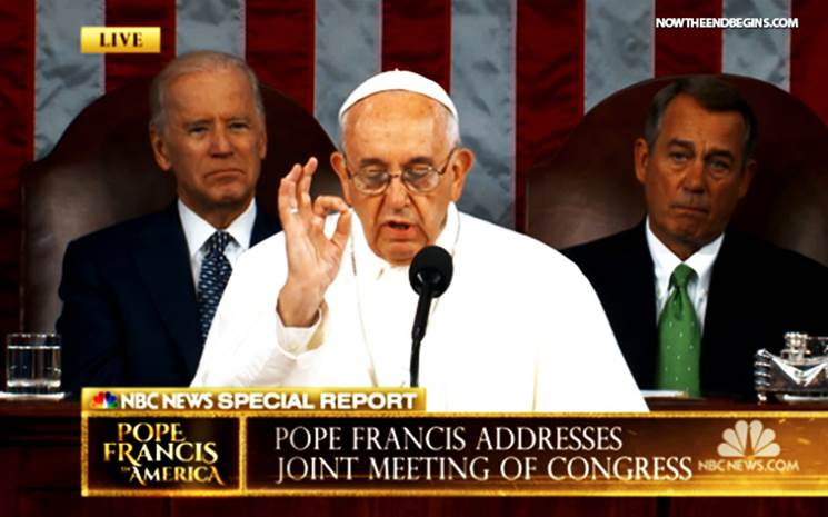 Pope Francis I speaks to the Global Village in Washington - New York