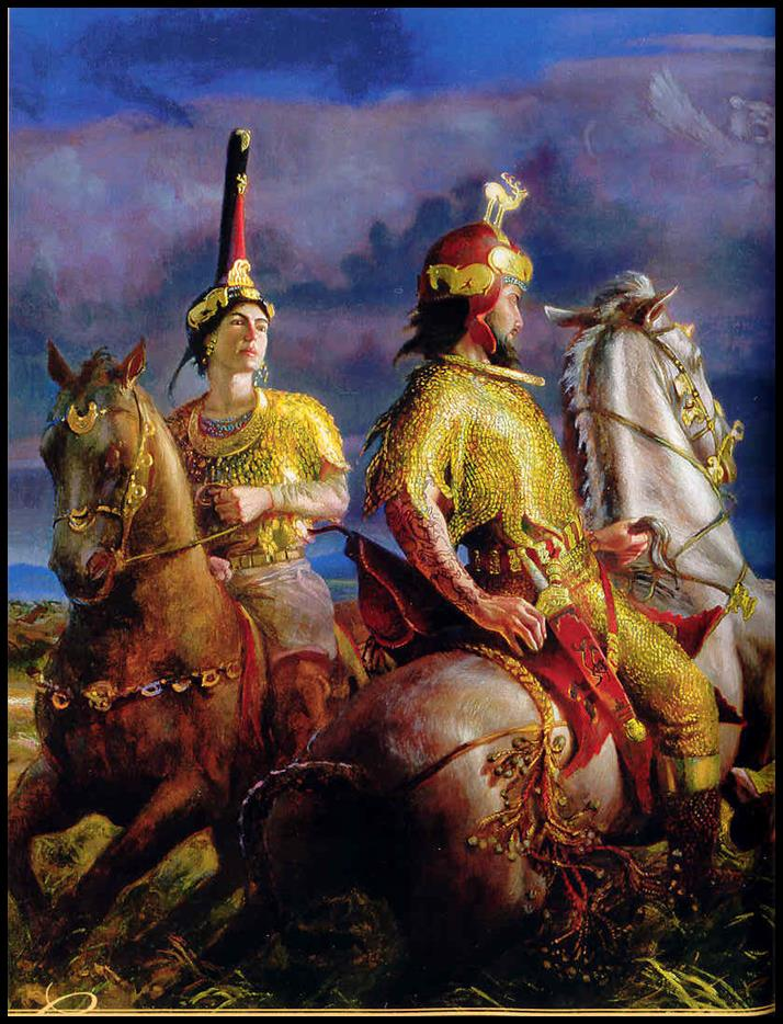 Royal Scythians of the Lost Ten Tribes of the House of Israel