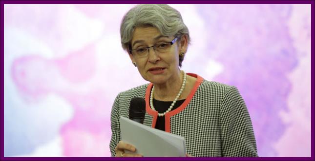 Director-General of UNESCO Irina Bo