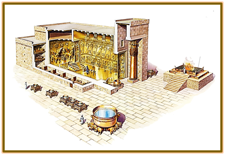 The Temple of Solomon and Courtyard