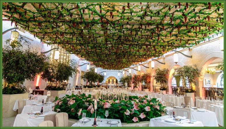 Sukkah at Waldorf Astoria Jerusalem