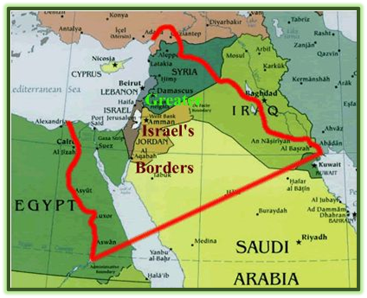 "Future Commonwealth of Israel called ""Greater Israel"""