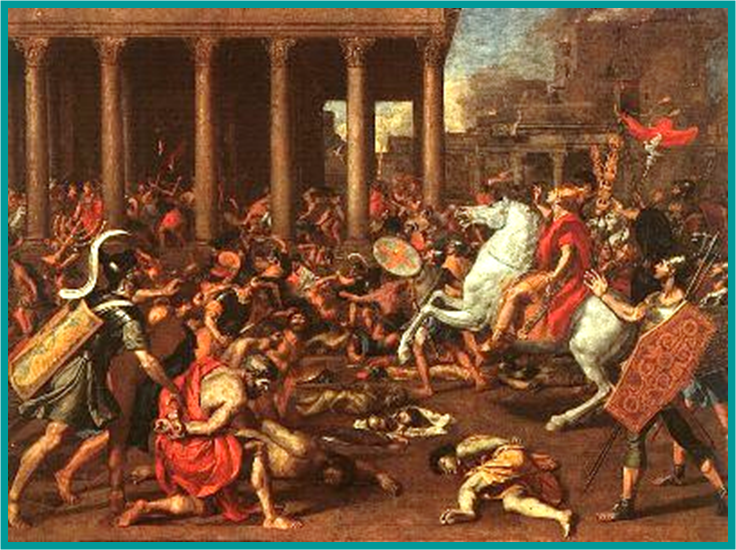 Grecian Desecration of the Temple by Antiochus Epiphanes IV of Syria