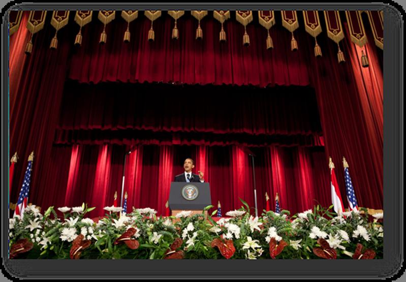 Barack Obama New Beginings Speach Cairo