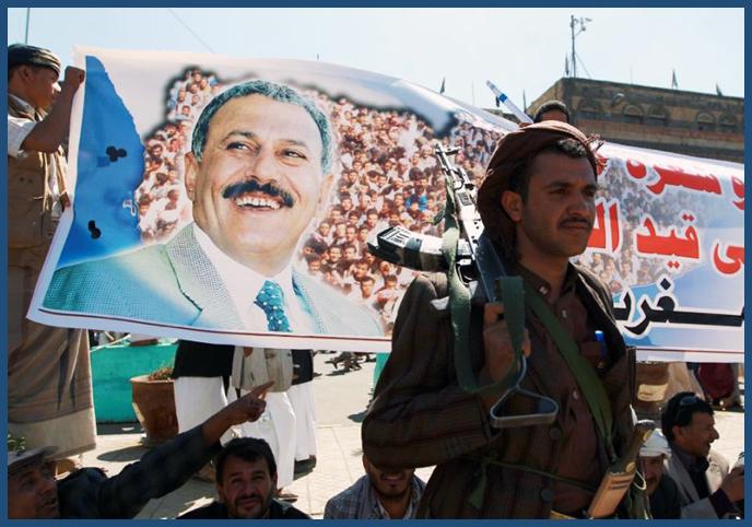 Yemini President Ali Abdullah Saleh