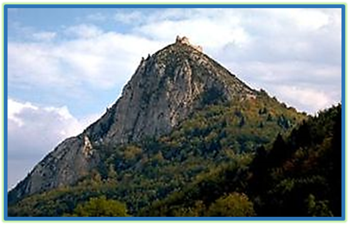 Last Stronghold of the Cathars at the Citadel of Mont