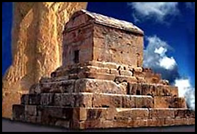 The Tomb of Cyrus the Great atPasargadae