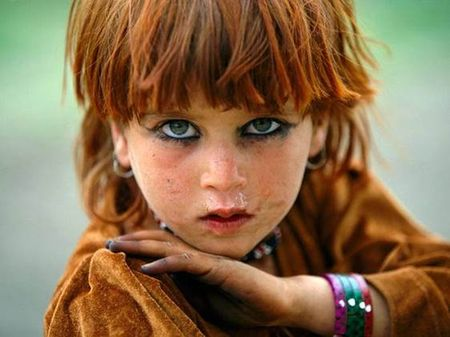 Tora Bora Girl of the Pashtun Tribes  of Afghanistan