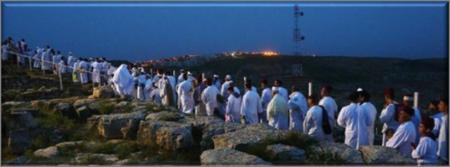 Modern Samaritans ascend Mount Gerizim