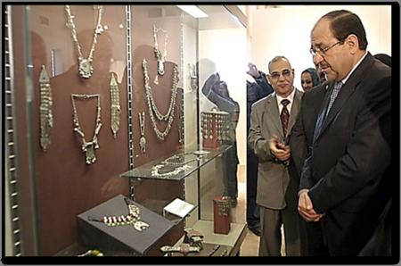 Iraq's Prime Minister Nouri al-Maliki 2009 Museum Opening