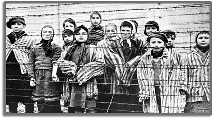 Jewish Children in the Concentration Camp of Auschwitz
