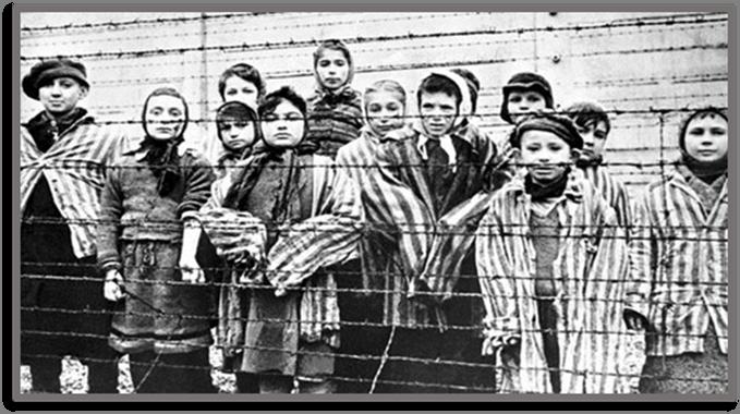 Jewish Children in the Concentration Camp of Auschwitz