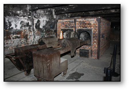 Holocaust Gas Chamber in Auschwitz