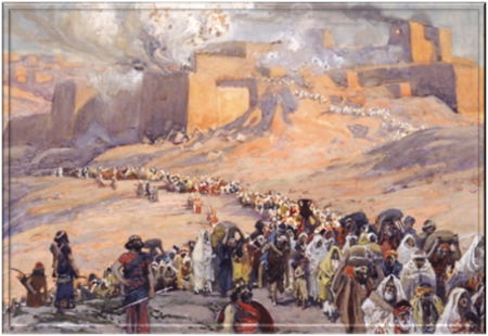 The Shoah, the Destruction of Solomon's Temple and the Exile of the Jews