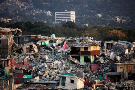 Devastation of Haiti's Port-au-Prince 2010 Earthquake