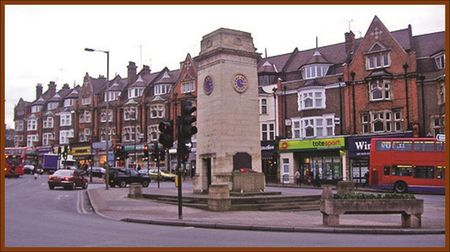 London's Golders Green Orthodox Jewish Neighborhood