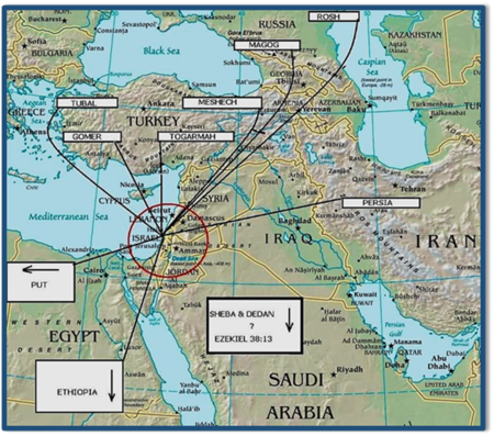 Gog-Magog Battle against Israel by the Russia-Turkey-Iran Axis
