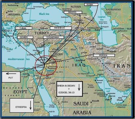 Gog-Magog Battle against Israel by the Russia-Turkey-Iran Axis