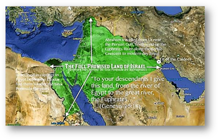 The Promised Land of Greater Israel