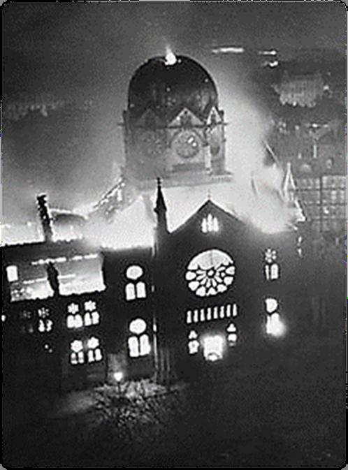 "Kristallnacht ""Night of Broken Glass"""