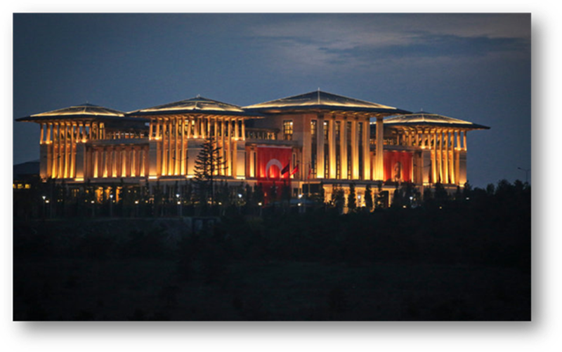 Presidential Palace In Constantinople for Ergodan