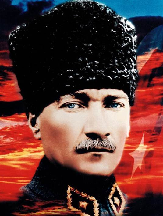 Mustafa Kemal Attaturk, Turkey's First President in 1923