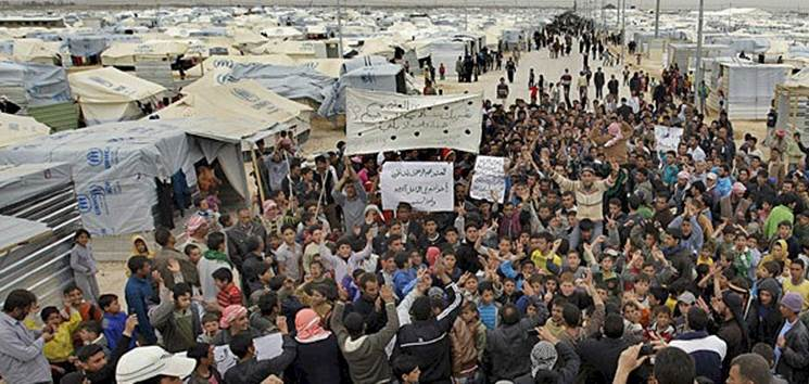 Syrian Refugees from the Syrian Civil War