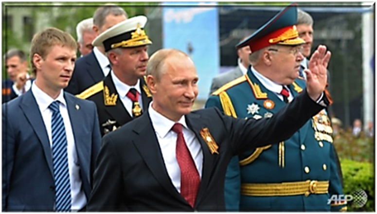 Vladimir Putin visiting Crimea for the first time since Annexin
