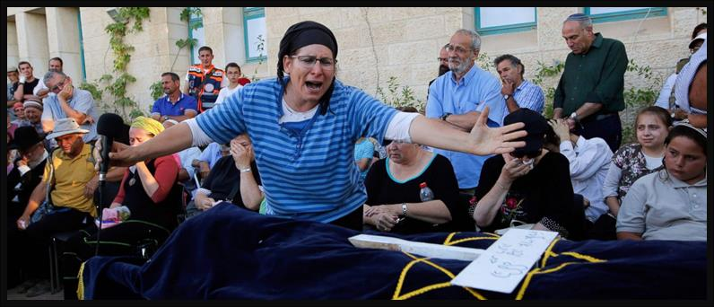 Intense Grief and Sorrow of a Jewish Mother, Roni Ariel for the Loss of her eldest 8th Grade daughter, Hallel Yaffe