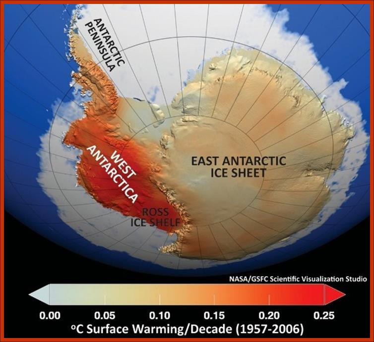 Fifty Years of Glacial Warming of Western Antarctica