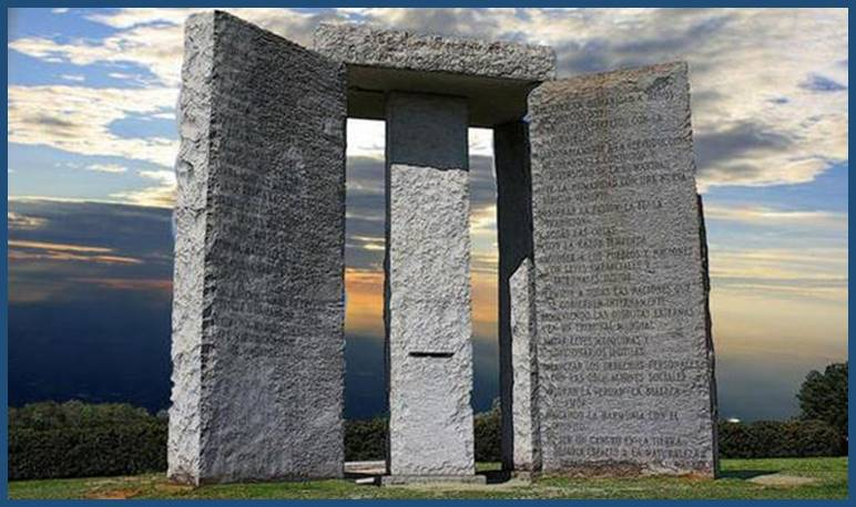 The Illuminati Georgia Guidestones