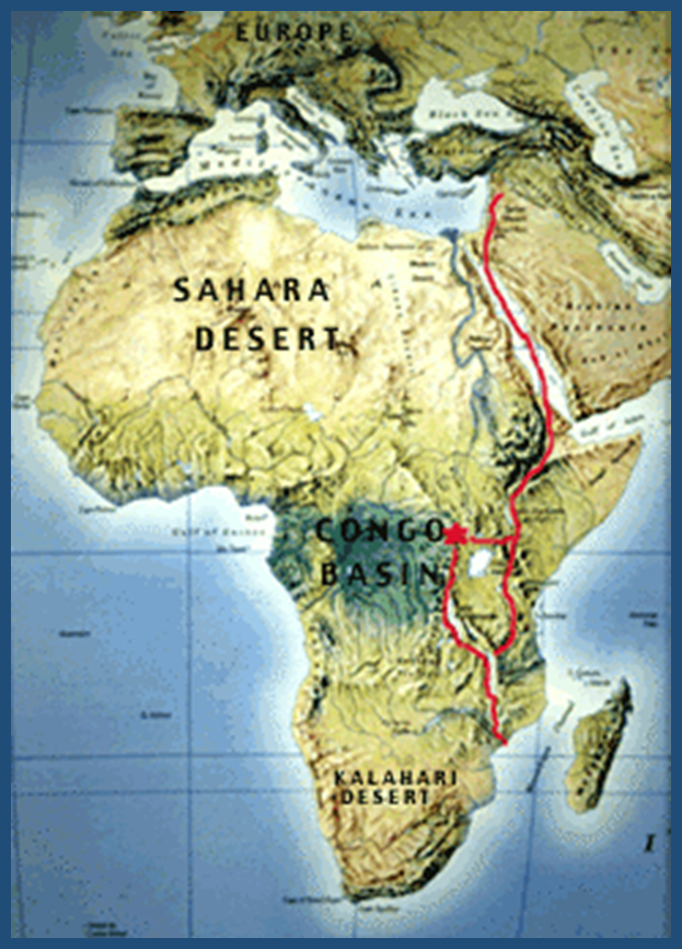Great Rift Valley created in the Days of Abraham