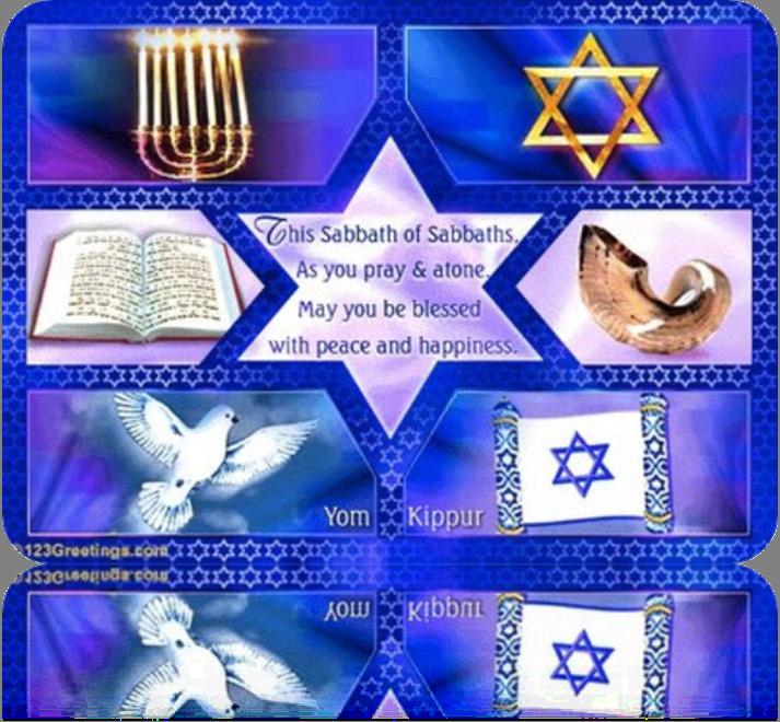 Yom Kippur the Shabbat of Shabbats