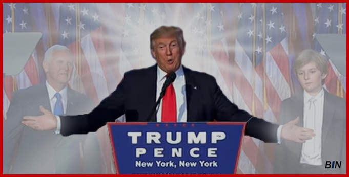 Donald Trump's acceptance speech after winning the election on November 8, 2016
