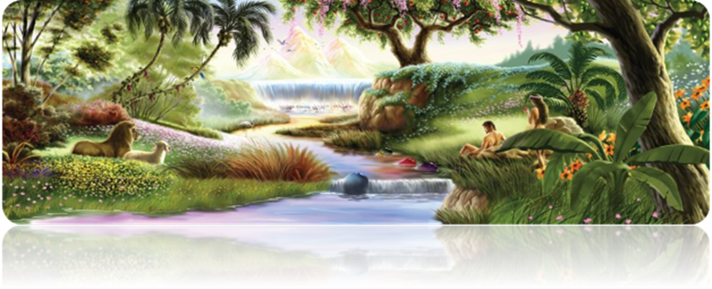 Spiritual History of Man in the Garden of Eden