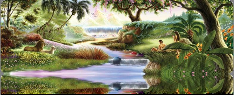 Spiritual History of Man in the Garden of Eden