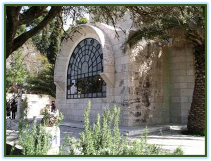 Dominus Flevit Chapel the reputed Site of where the Nazarene wept