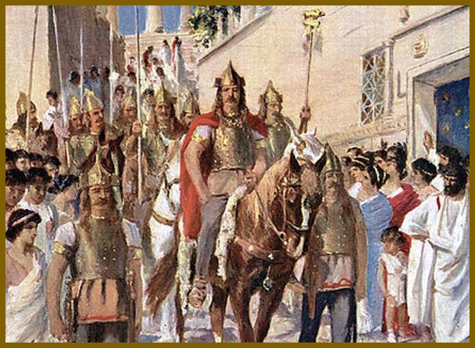 Lost Israelite Gothic King Alaric