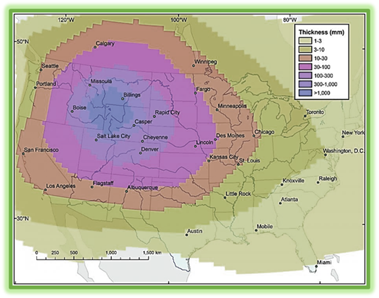 Is the Yellowstone Caldera preparing to become part of the Messianic Yellowstone Destruction Map on rainier destruction map, yosemite caldera map, everglades destruction map, yellowstone destruction radius, yellowstone destruction zone, yellowstone super volcano effects, yellowstone fallout projections super volcano,