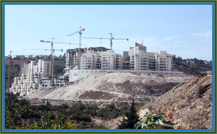 Building Boom in the Shomron and Judean Region of Israel